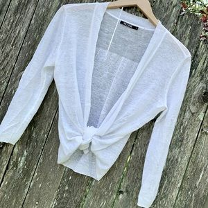 NIC + ZOE White Cardigan Sweater
